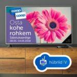 eesti esimese interaktiivse telereklaami idee ja teostus hübriidtv-s, koostöös COOPiga (2018)